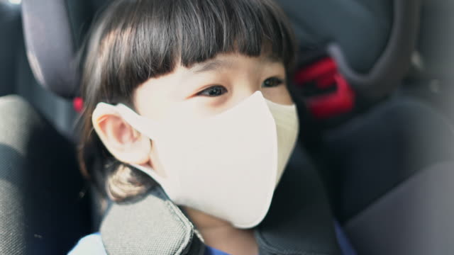 asian boy wearing a dust mask, pm2.5 - carbon monoxide stock videos & royalty-free footage