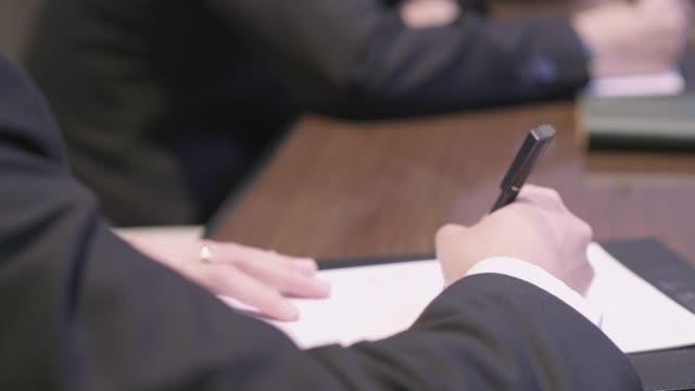 asian business people meeting - global leadership stock videos & royalty-free footage