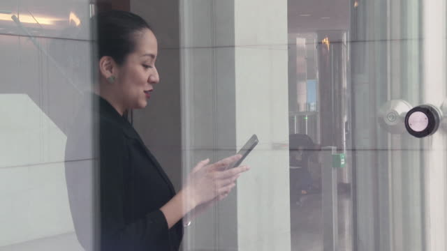 Asian business woman using digital tablet
