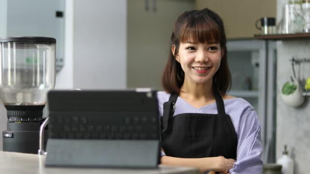 asian cafe owner