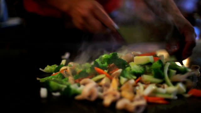 asian cooking chinese food - audio available stock videos & royalty-free footage