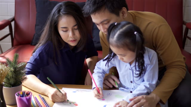 stockvideo's en b-roll-footage met aziatische familie. - jonge familie