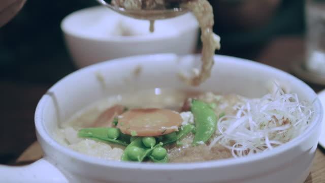 asian girl eating - ramen noodles stock videos & royalty-free footage