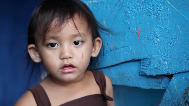 Haute définition portrait de jeune fille asiatique Philippines