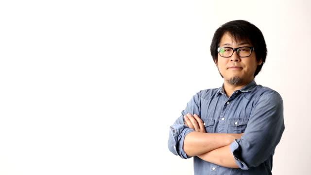 Asiatischen Mann