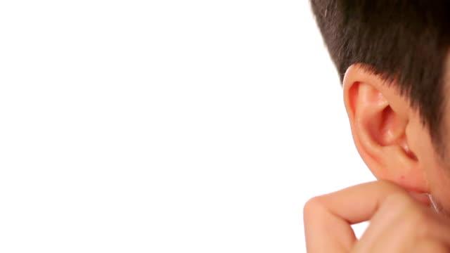 asian man's Ear