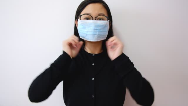 asian people with face mask - patience stock videos & royalty-free footage