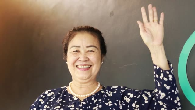 asian senior woman in south east asia - south vietnam stock videos & royalty-free footage