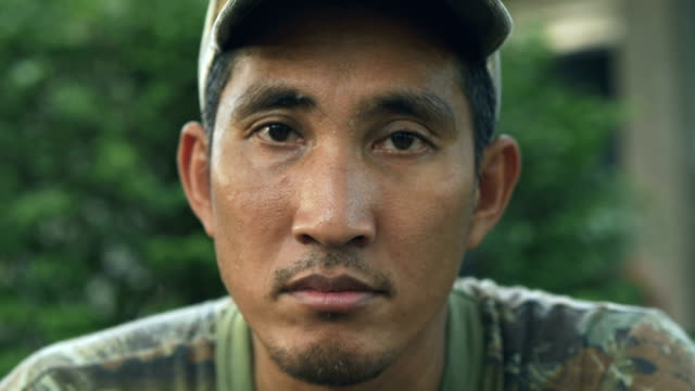 asian soldiers face - war veteran stock videos & royalty-free footage