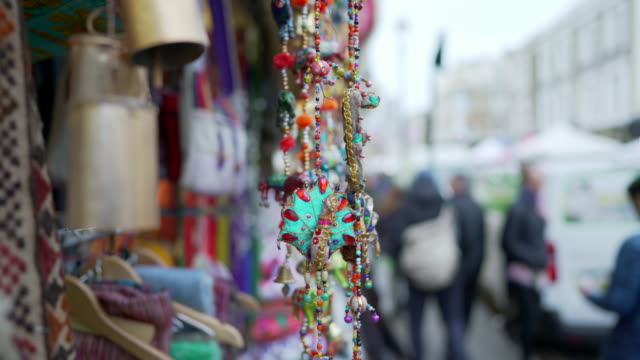 asian style on the portobello road, london - notting hill videos stock videos & royalty-free footage
