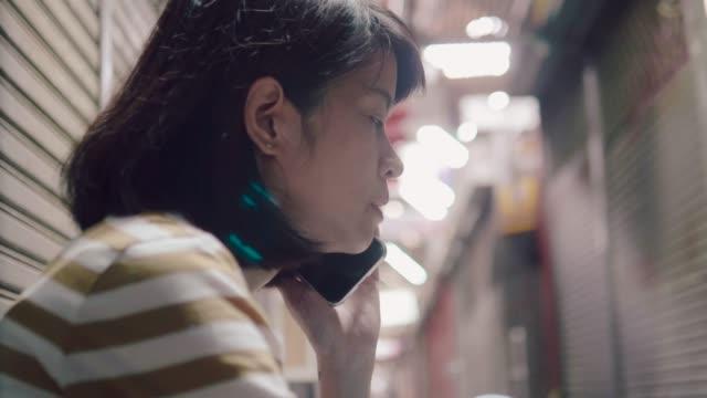 vídeos de stock, filmes e b-roll de stress da mulher asiática - falência