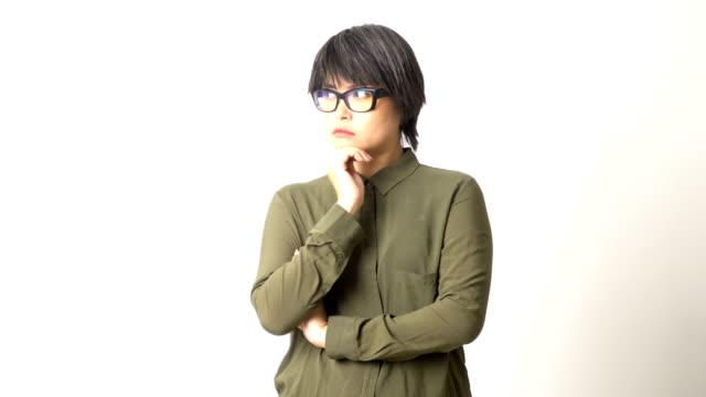 アジアの女性 - 問う点の映像素材/bロール