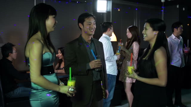 Asian Young Adult Party