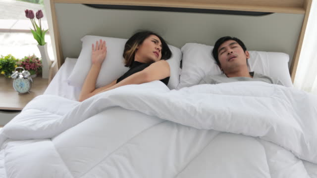 130 Snoring Woman Videos And Hd Footage Getty Images