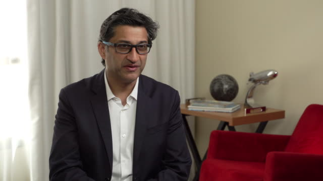 asif kapadia on whether football is the real villain of the film, how fame has become a theme of his documentaries and how diego maradona needed the... - ドキュメンタリー映画点の映像素材/bロール