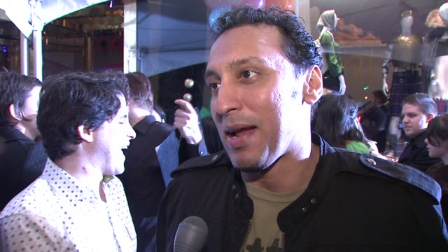 Asif Mandvi on what brings him out tonight being a fan of juicy and wearing a juicy jacket tonight Talks about his feelings surrounding the election...