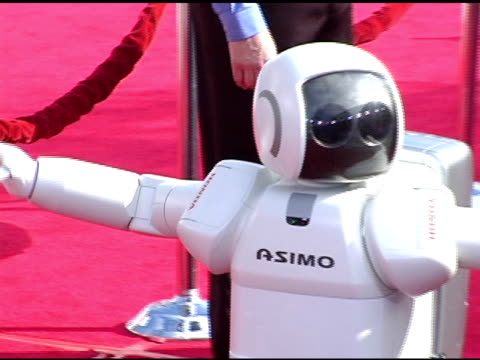 Asimo Robot at the 'Robots' World Premiere at the Mann Village Theatre in Westwood California on March 6 2005