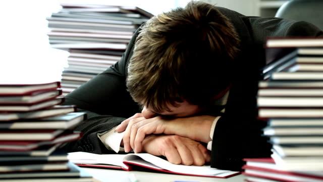 Schlafen am Arbeitsplatz