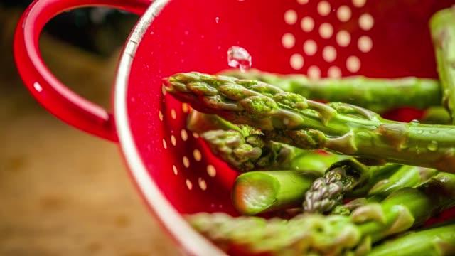 asparagus - asparagus stock videos & royalty-free footage