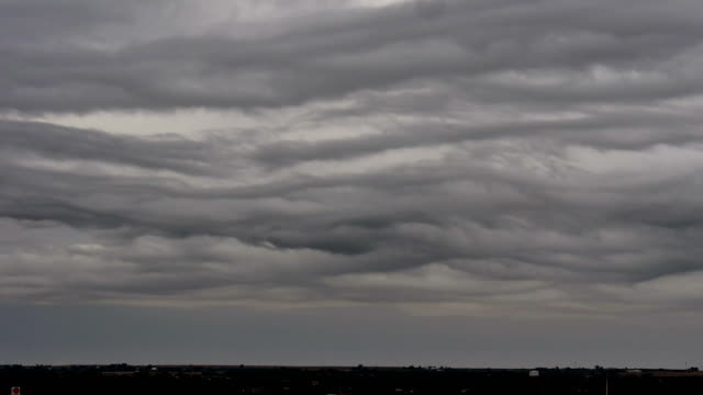 asperitas cloud waves, time-lapse - stratocumulus stock videos and b-roll footage