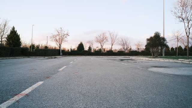 asphalt road - loopable moving image stock videos & royalty-free footage
