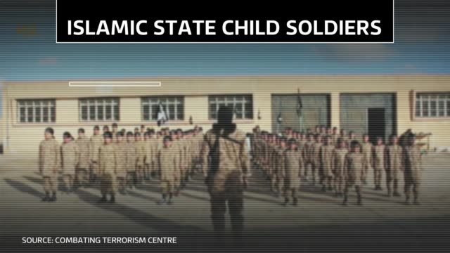 vídeos y material grabado en eventos de stock de islamic state use of child soldiers details of attacks by islamic state child soldiers - isis