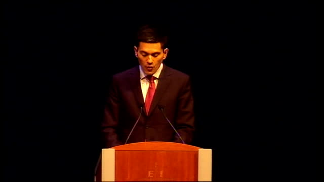 David Miliband speech David Miliband speech continued SOT The military effort is brave and impressive Since this is a war and since soldiers are...