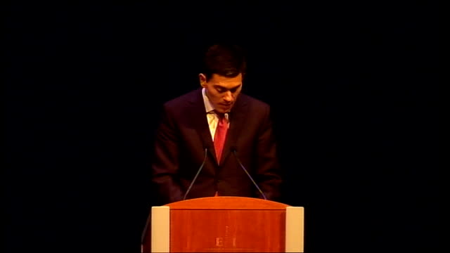 assembly in edinburgh: david miliband speech; david miliband speech continued sot in this, there may need to be, as general mcchrystal has said, a... - hierarchy stock videos & royalty-free footage