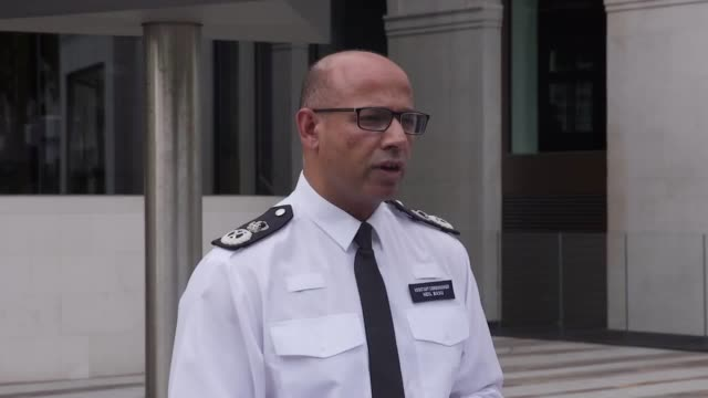 assistant commissioner neil basu gives a statement on the latest in the novichock incident in amesbury. - police statement stock videos & royalty-free footage