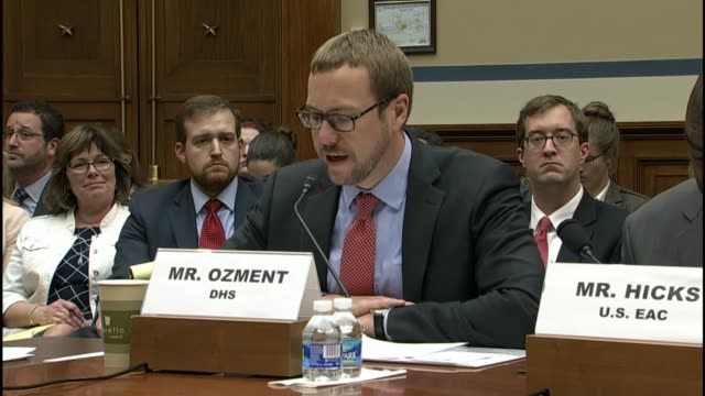 assistant homeland security secretary for cybersecurity and communications andy ozment tells members of a house oversight and government reform... - vulnerability stock videos and b-roll footage