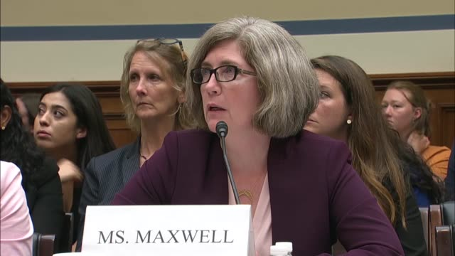 Assistant Inspector General for Evaluation and Inspections with the Department of Health and Human Services Ann Maxwell tells the House Oversight and...