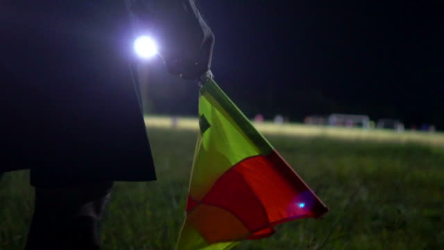 assistant referee informing a substitution - referee stock videos & royalty-free footage