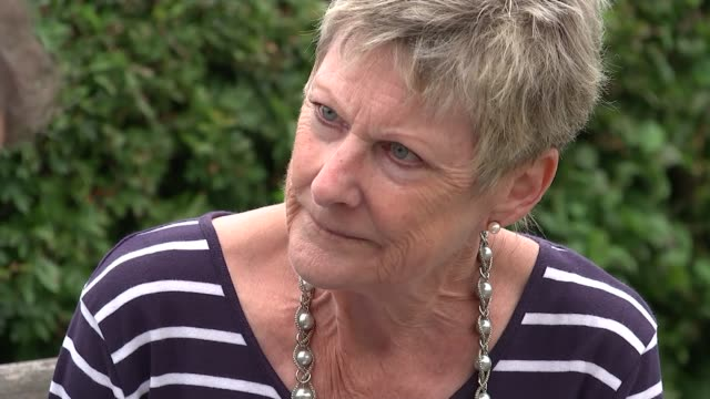 bob cole calls for uk law change before ending life at swiss clinic england hertfordshire berkhamsted the hospice of st francis ext janice beaman... - pancreatic cancer stock videos and b-roll footage