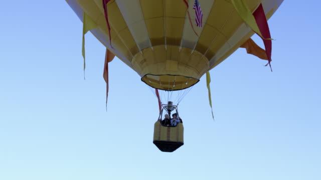 Assortment of hot air balloons in Utah.