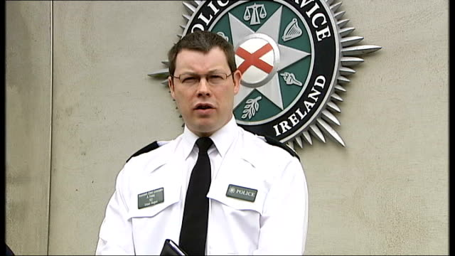 int asst chief constable alistair finlay statement sot is sinister development / seems to be part of orchestration of this violence that under cover... - 賃貸契約点の映像素材/bロール