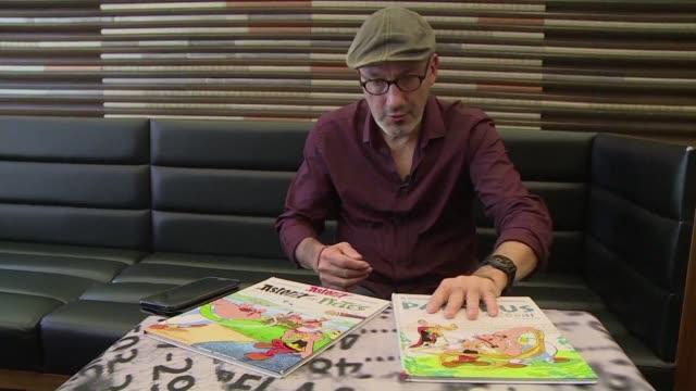 vídeos y material grabado en eventos de stock de asterix en patagonia seria un buen título para una nueva aventura del legendario personaje segun su guionista aunque reconoce que seria dificil de... - guionista