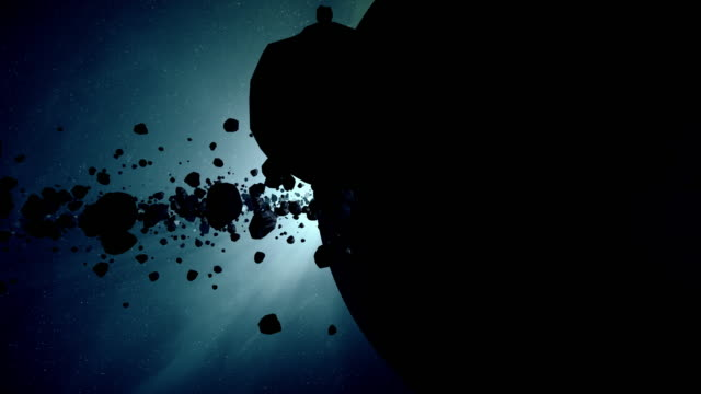 asteroid belt - impact stock videos & royalty-free footage