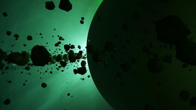 小惑星ベルト - 軌道を回る点の映像素材/bロール