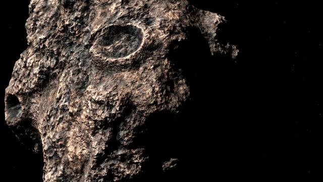 stockvideo's en b-roll-footage met asteroid in ruimte - meteoor