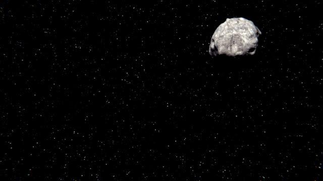 vídeos de stock e filmes b-roll de asteroid lutetia - meteoro