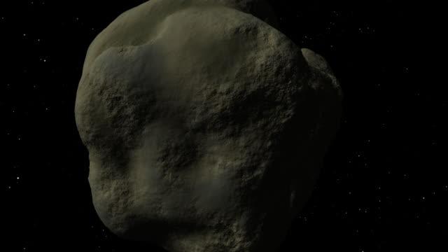 小惑星旅のスペース - 小惑星点の映像素材/bロール