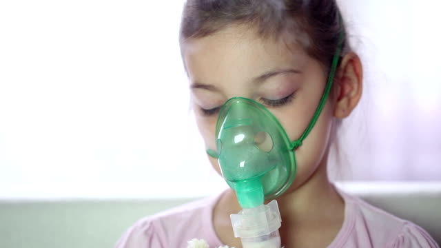 asthma treatment - asthmatic stock videos and b-roll footage