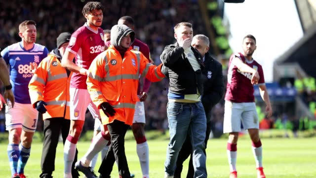 Aston Villa captain Jack Grealish celebrated the 'best day of his life' after he recovered from being punched by a pitch invader to score the derby...