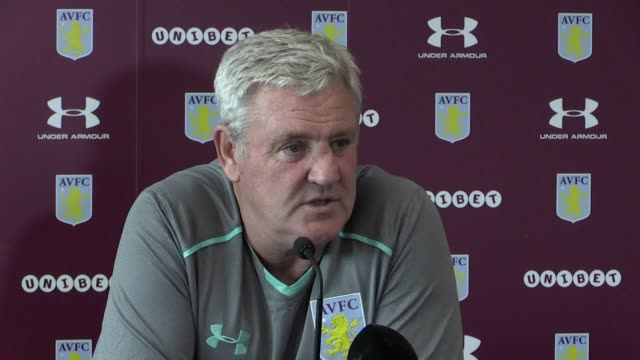 Aston Villa manager Steve Bruce speaks ahead of Friday's Championship match against Bristol City