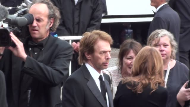 Astrid Doesn't Recognize Jerry Bruckheimer on May 14 2011 in Cannes France