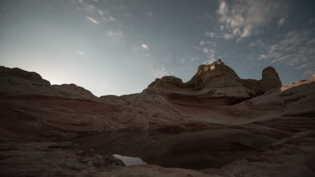 Astro Timelapse at White Pocket Arizona