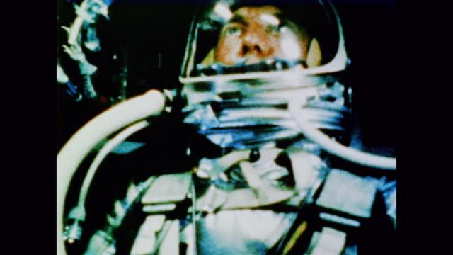 astronaut alan shepard the first american to enter space - alan b. shepard jr stock videos & royalty-free footage