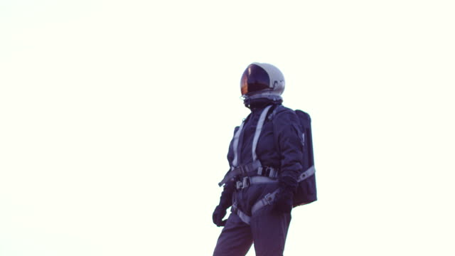 astronaut in space suit - astronaut stock videos & royalty-free footage