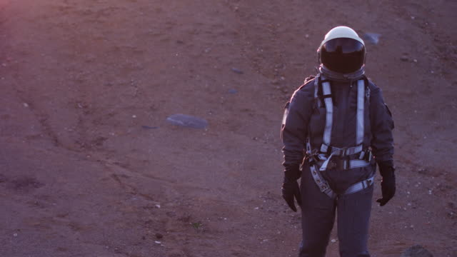 astronaut in space suit - oxygen tank stock videos and b-roll footage