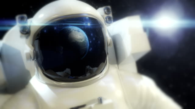 astronaut in space - astronaut stock videos & royalty-free footage
